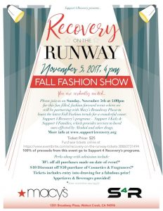 Recovery On the Runway @ Macy's  | Walnut Creek | California | United States
