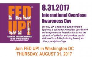 Fed Up's International Overdose Awareness Day Events @ Ellipse | Washington | District of Columbia | United States