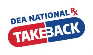 National Rx Take Back Day @ Find a location near you:  https://takebackday.dea.gov/
