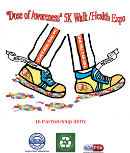 Save the Date:  5th Annual 'Dose of Awareness' 5K Walk/Health Expo @ Heather Farm Park
