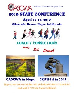CASCWA Conference @ Silverado Resort Napa, California