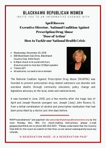Dose of Action:  How to Tackle Our National Health Crisis @ Blackhawk Country Club, Grille Room