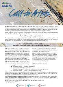 Call for Artists @ San Ramon Community Center