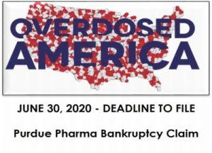 Purdue Pharma Bankruptcy Claim Deadline