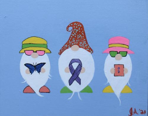 Overdose Awareness Gnomes, Jennifer Alba