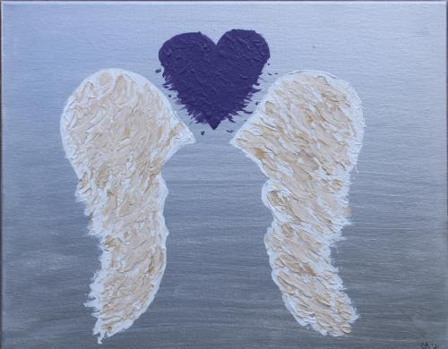 Overdose Awareness Wings, Jennifer Alba